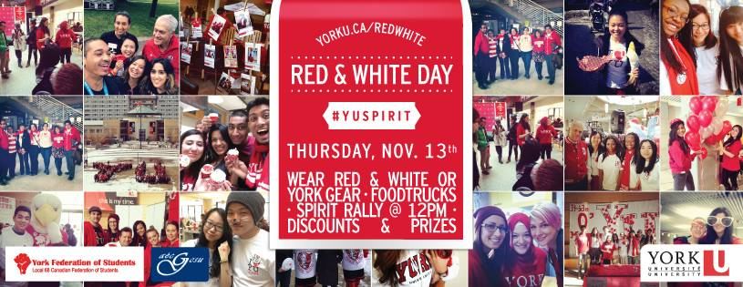 Red & White Day